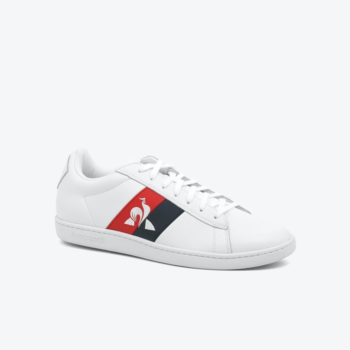 ZAPATILLA LE COQ SPORTIF COURTCLASSIC FLAG WHITE HOMBRE